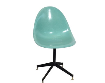 Fiberglass Shell Chair Sea Foam Green Aqua Green