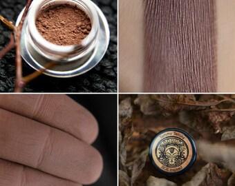 Eyeshadow: Adept of Secret Paths - Dwellers of Rusted Wastelands. Gray-brown matte eyeshadow by SIGIL inspired.