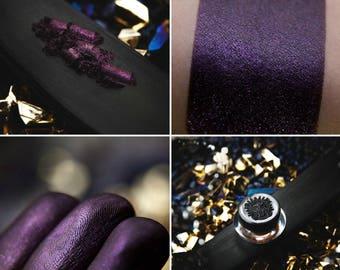 Eyeshadow: Enchantress of the Magic Dragon - Dragonblood. Dark purple, shimmering eyeshadow by SIGIL inspired.