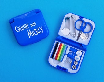 Sewing Kit for Disney Cruise Fish Extender gift - DCL FE gift - Travel Sewing Kit - Cruisin' with Mickey