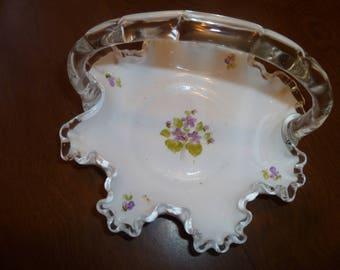 Beautiful Small Glass Basket