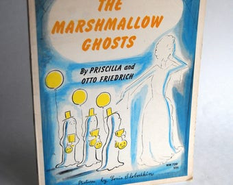 Vintage Children's Book, The Marshmallow Ghosts