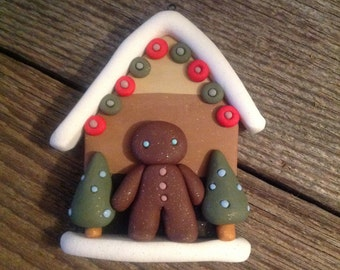 Gingerbread Man Christmas House