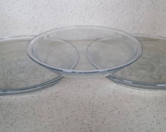 Vintage Pie Plates Fire King - Set of 3