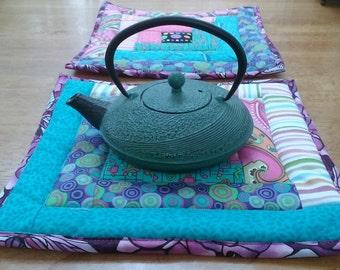 Quilted Tea Trivet