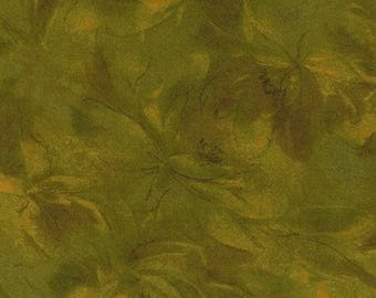 Carnival by Jinny Beyer - Large Tonal Floral - Olive Green 2260-5