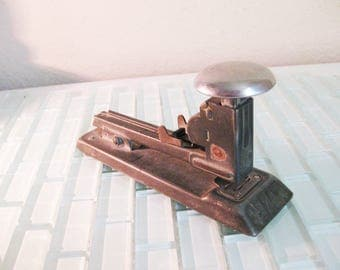 Metal Industrial Stapler  - ACE PILOT - Heavy Duty Desk Stapler - USA