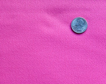 Vintage pink knit fabric