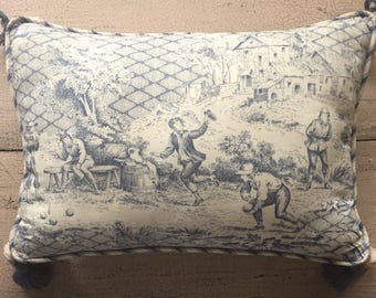 Vintage Toile Pillow ... Free Shipping ... 10% Off Coupon SAVE10