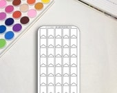 Blank Planner Sticker She...