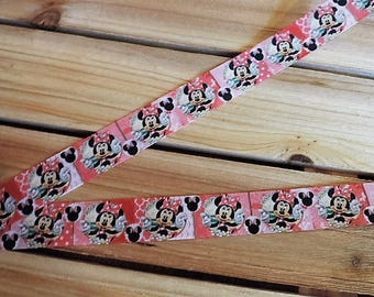 Minnie Mouse ribbon - 3 yards