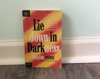 "William Styron ""Lie Down in Darkness"" paperback novel"