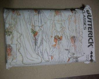 Butterick 4649 Wedding Veils.  CLASSICS