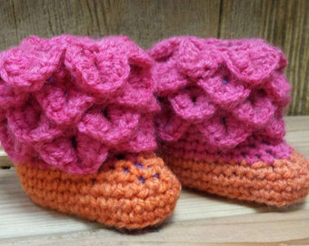 Funfetti crocodile slippers