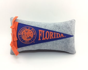 University of Florida Gators Pennant Pillow - ***SMALL 10 inches***