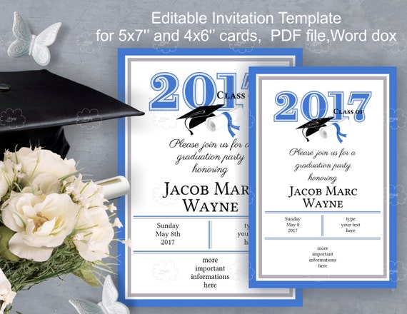 Graduation Party Invitation Letter was nice invitation template