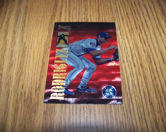 1995 Alex Rodriguez (Seattle Mariners) Select Can't Miss Insert Card #CM10