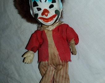Antique Small Clown Doll