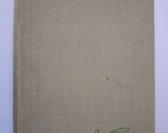 Nancy Price- Nettles And Docks-1940- Signed 1st Edition Book