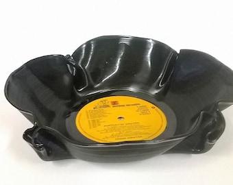 Fun Funky Retro Vinyl Record Bowls