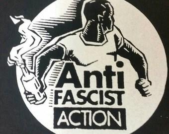 Anti Fascist Action sweatshirt or hoodie