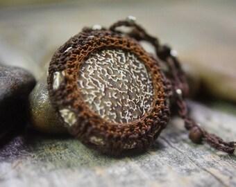 Dinosaur Bone ~ Dinosaur Bone jewelry ~ Dinosaur Bone Necklace ~ Bone Jewelry ~ Bone Necklace ~ Boho ~ Bohemian Jewelry ~ Bohemian Necklace