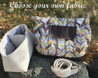 Custom purse camera bag | Custom DSLR camera bag | Cross body bag | Crossbody purse | Convertible purse  Ladies purse || Gifts for mom