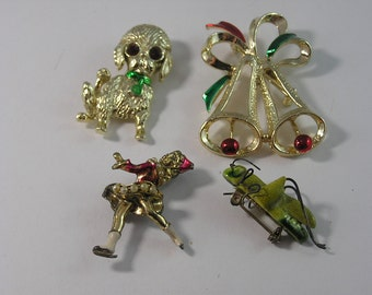 Vintage Figural Brooches