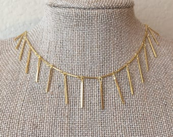 Dangle Gold Necklace