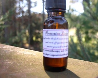 Protection Oil- essential oil blend, for Empaths,psychics,strength,lunar/moon magic, pagan, ritual, witch, wicca