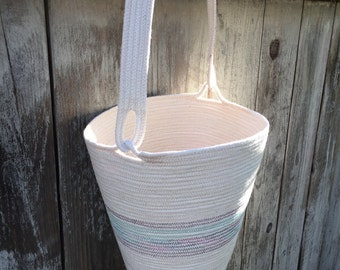 The Quiver Tote Coiled Basket
