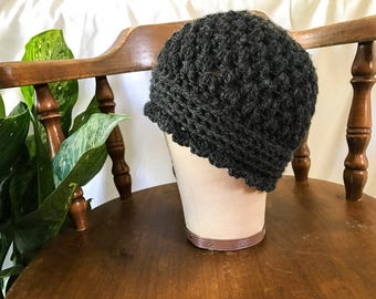 I Have You In My Cloches (crocheted cloche beanie)