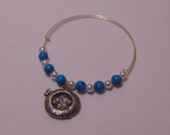 Birdsnest Charm Bracelet