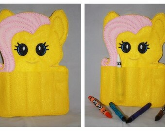 Fluttershy Crayon Holder