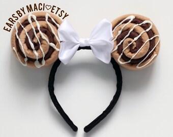 Cinnamon Bun Inspired Minnie Ears