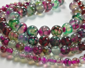 One Full Strand faceted  6mm-8mm -10mm -12mm Agate Stone Beads , Agate Beads , Agate Stone Beads , Gemstone Beads ,Stone Beads