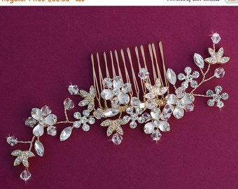 GOLD or SILVER Wedding Hair Accessories Crystal Bridal Comb Accessory Hair Piece Jewelry Prom Party Hairpiece Barrette Clip Birdcage Veil