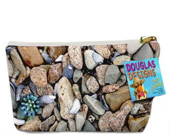 Zipper Pouch - Beachstones