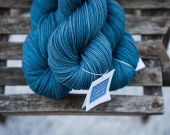 Hand Dyed Organic Merino Worsted Weight Yarn