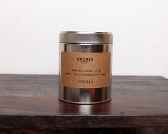 16oz Vanilla Soy Candle