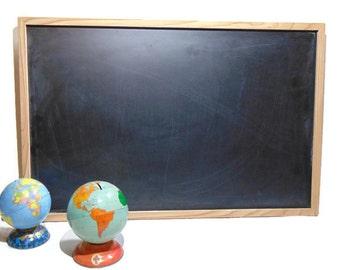 Chalkboard, Large Chalkboard, Chalkboard Wood, Framed Chalkboard, Kitchen Chalkboard, Chalk Board, Vintage Chalkboard, School Chalkboard