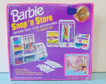 Barbie Snap 'n Store, Barbie Closet, Barbie Furniture, Doll Furniture, Doll Accessories, Barbie Doll Furniture, Vintage Barbie, Doll Closet