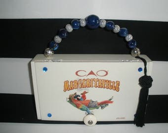 CAO Margaritaville Cigar Box Purse, Smoking Parrot- Perfect for Jimmy Buffet Fans!