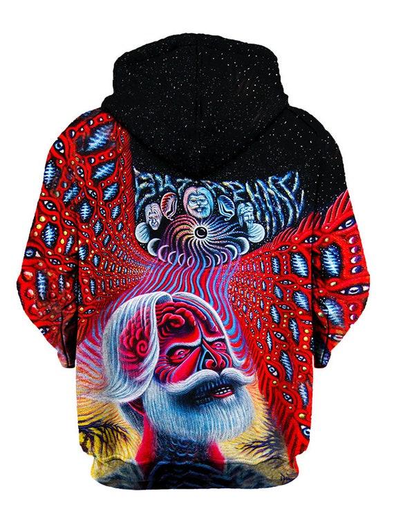 c3600703120 cheap Grateful Dead Bob Weir Hippie Hoodie Alex Grey Inspired - www ...