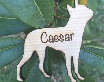 Custom Boston Terrier Magnet