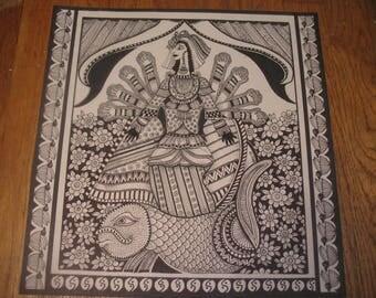 Queen of Sheba...illustration, digital prints