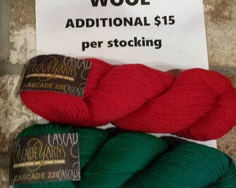 Additional cost for Each Wool Stocking