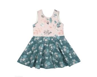 Emma Tank Mini Twirl Dress