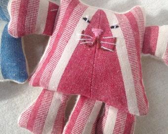 Organic Baby Toy, Stuffed animal Kitty