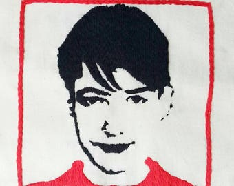 Kathleen Hanna Embroidery Fan Art.